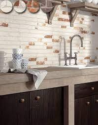 manhattan brick effect wall tiles from
