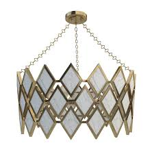 robert abbey edward chandelier modern brass finish with marble 3d model max fbx unitypackage