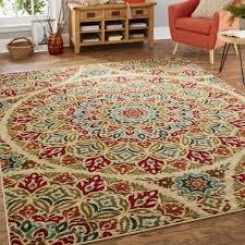 picturesque rugs 6x9 in mohawk home strata jerada multicolor area rug 5 x 8