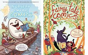 how can you go wrong with nursery rhymes and fairy tales especially when they re drawn by some of the best cartoonists in the business first second books