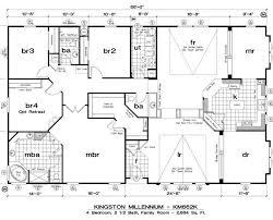 3 bedroom single wide mobile home floor plans lovely 21 best triple wide floor plans images