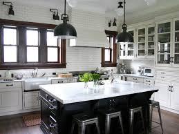 cabinet lighting backsplash black white kitchen with island backsplash lighting