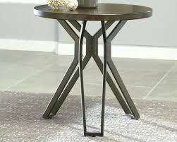 full size of wood and iron accent tables uma metal table threshold with top round black
