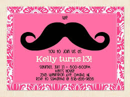 13th Party Invitations Free Printable Birthday Invitations For Girls Free