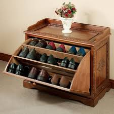 furniture for shoes. Furniture. Shoe Storage Cabinet. Shoes Closet Organizer With Wood Cabinet And Varnished Furniture For