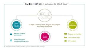 taj innercircle introduces circle series