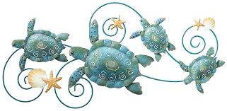 turtle wall decor outdoor regal art gift sea