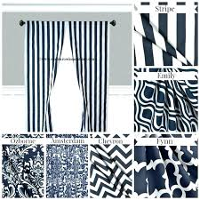 Navy Blue Patterned Curtains Adorable Navy Patterned Curtains Navy Blue Print Curtains Medium Size Of