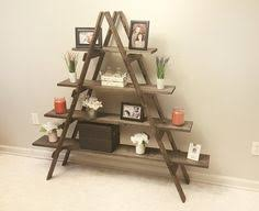 Craft Show Display Stands Wooden Ladder Craft Fair Display Ladder Shelf by SipandDazzle 85