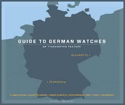 timekeeping guide to german watches • gear patrol