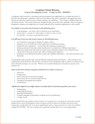 Graduate School Resume High School Graduate Resume Objective Student For College Job 1
