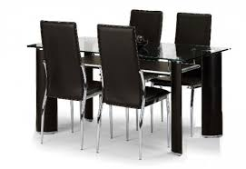 brilliant dining table set 4 chairs glass dining table set 4 chairs wildwoodsta