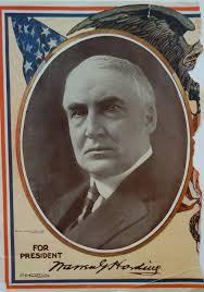 Image result for  President Warren G. Harding.