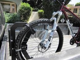 Wheel Wally Pickup Truck Bike Rack - Straps the Wheel for Secure ...