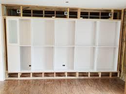 Built In Drywall Shelves Avery Street Design Blog Diy Summer School Ikea Hack Built In