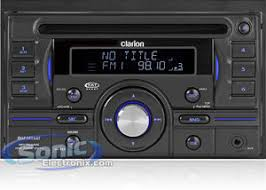clarion duz385sat double din cd aac mp3 wma receiver double din cd aac mp3 wma receiver front 3 5mm aux input and direct ipod connection via usb
