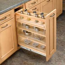 Door Mount Base Pull Out Spice Rack For BFH9
