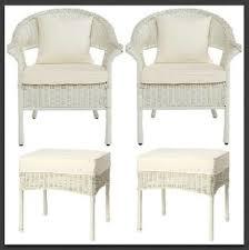resin wicker patio furniture ottomans