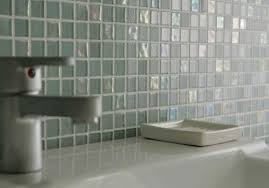 bathrooms with glass tiles. Dewdrops Recycled Glass Tile Modern-bathroom Bathrooms With Tiles