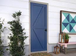 How to Turn a Plain Door Into a Barn Door | DIY