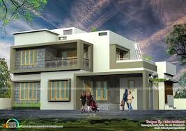Simple modern home design Corner Small House Simple Modern House With Pool Areniinfo Simple Modern House Architectures Design