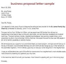 Sample Business Offer Letter Sample Business Proposal Letter For ...