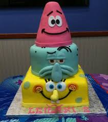 Spongebob Birthday Party Cake Home Party Theme Ideas