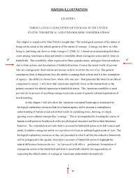 minimum formatting requirements  graduate college  the