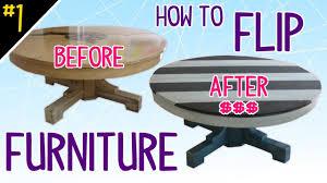 Flip Furniture How To Flip Furniture Diy Dork Style Pt 1 Of 4 Youtube