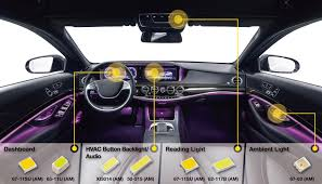 ambient interior lighting. Examples Of Automotive Interior Lighting Ambient E