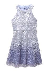 Trixxi Ombre Sequin U Neck Dress Little Girls Big Girls Nordstrom Rack