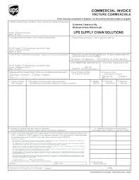 Commercial Shipping Invoice Extraordinary International Invoice Template International Commercial Invoice