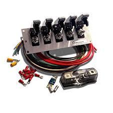 boat wiring kits data wiring diagram blog amazon com 5 gang metal toggle switch panel wiring kit for 12v off wakeboard tower wiring