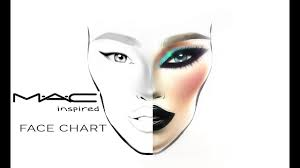 Mac Chart Mac Face Chart Inspired