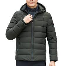 Allywit <b>Mens</b> Winter <b>Thicken Cotton Coat</b> Puffer <b>Jacket</b> Oversize ...