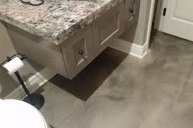 Image Sealer Bathroomgrey Shawnee Mission Post Epoxy The Hidden Gem Of Basement Flooring Options Shawnee Mission
