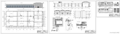 Курсовые и дипломные проекты промышленные здания скачать dwg  Курсовой проект Механосборочный цех тяжелого машиностроения г