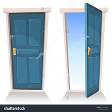 inside front door clipart. Inside Front Door Open. Clipart Cartoon \\u0026 Interior Vector Eps10 Illustration