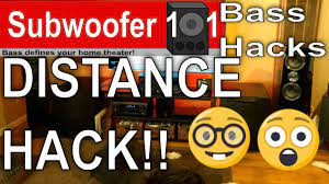 BASS HACKS: THE DISTANCE HACK!! THE BEST ONE! (Subwoofer Optimization) -  YouTube