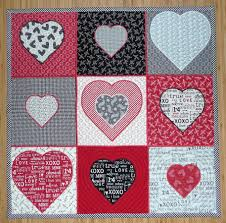 Chantell's Creations - Designs - QProjects & In This set You receive the following Squares - The squares have echo  quilting around the hearts, and the squares are done with an outside Satin  Edge border ... Adamdwight.com