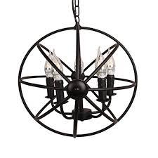 metal cage chandelier ridgeyard 5 light globe chandelier vintage lighting ceiling metal hanging fixture cage chandeliers