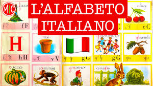 A la fin de la vidéo vous avez un petit. L Alfabeto Italiano Italian Alphabet Phonetics Learn Italian Pronunciation Youtube