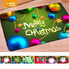 Non Slip Rugs For Kitchen Popular Christmas Kitchen Rugs Buy Cheap Christmas Kitchen Rugs