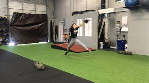 softball pitching at true grind