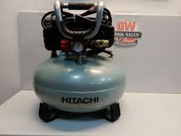 hitachi pancake air compressor. hitachi ec710s portable 6-gallon oil-free pancake compressor (factory reconditioned) air n
