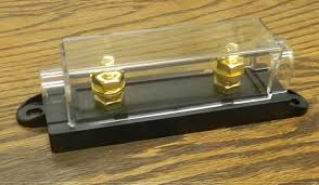 black anl fuse block