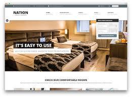30 Best Hotel Apartment U0026 Vacation Home Booking WordPress Themes Room Designer Website