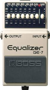 BOSS Seven-Band Graphic Equalizer Guitar Pedal ... - Amazon.com