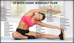 At Home Weekly Workout Plan Fresh 10 Week No Gym Home Workout Plan ...