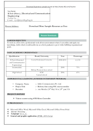 Ms Word Resume Format Where Can I Find A Resume Template On Word